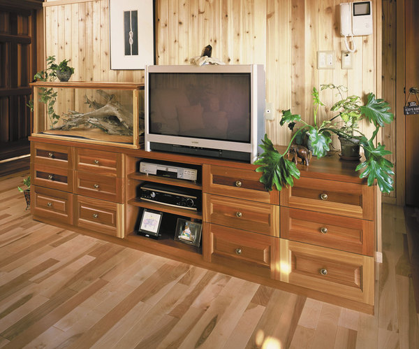無垢材のオリジナル家具
