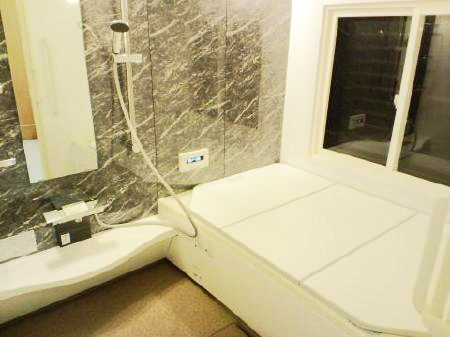 ゆったり広々浴室へリフォーム