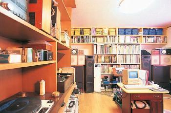 音楽好きにはたまらない防音設備の整ったお部屋
