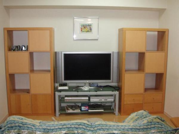 お気に入りのものを展示できるオリジナル家具の完成!