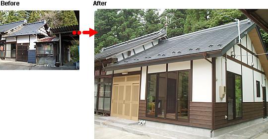 既存の建物と調和した増築リフォーム