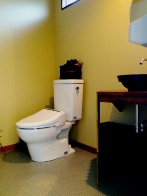 おしゃれなトイレに