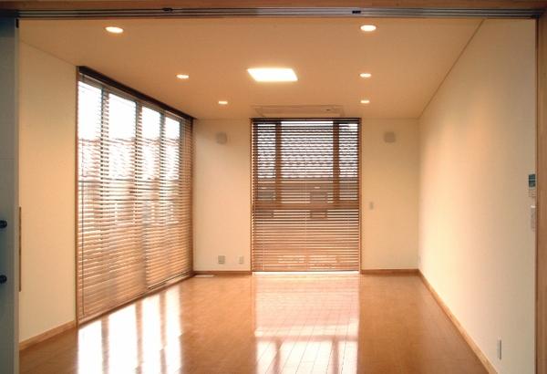 明るくきれいな洋室