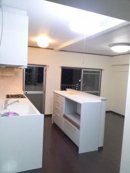 和室とキッチンを1部屋に