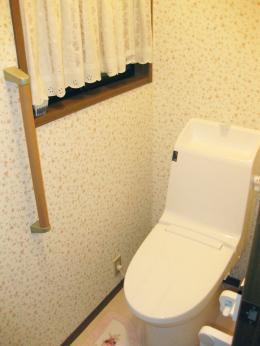 きれいなトイレにリフォーム