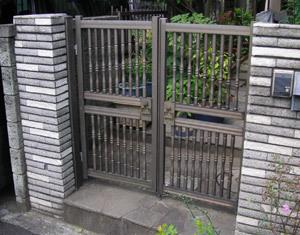 門扉を安く新しく
