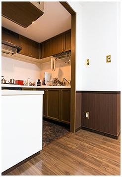 雰囲気のいいキッチン