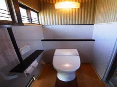 和風でおしゃれなトイレ