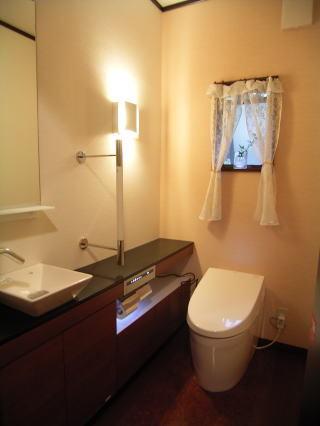 ホテルのようなこだわりのトイレ