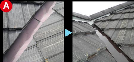 屋根の全体修理