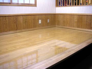 清潔感の増すピカピカな床