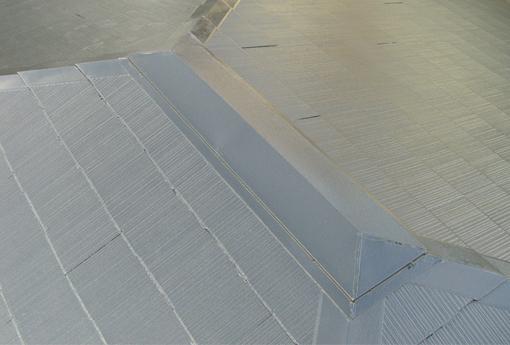 清潔感のあるきれいな屋根