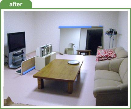 レッスン教室の休憩室増築