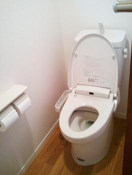 和式から洋式へトイレ交換