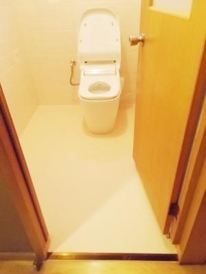 トイレの段差解消リフォーム