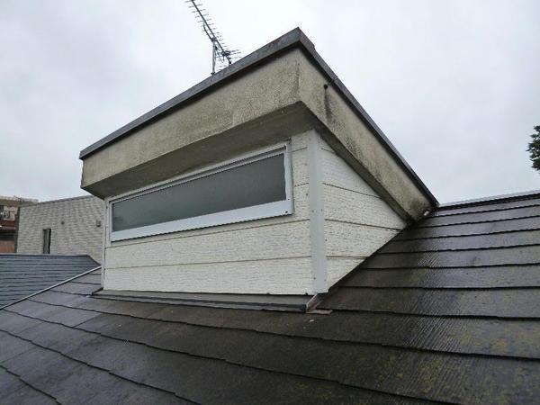 屋根も綺麗に新しく