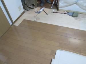 床暖房の交換工事