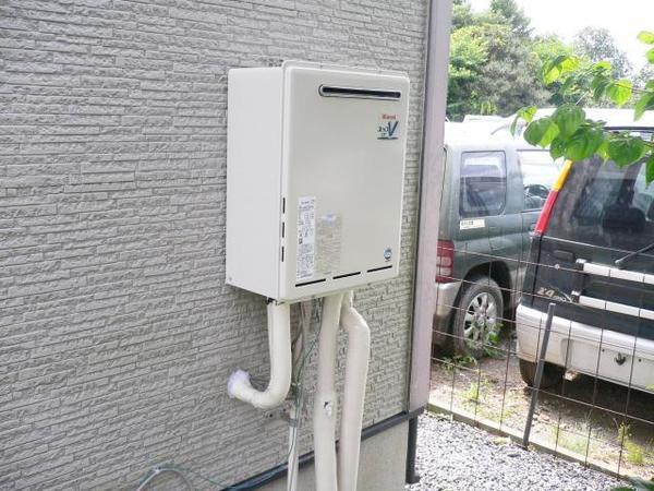 リンナイのガス給湯機設置リフォーム