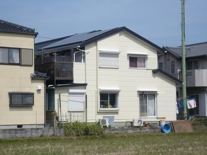 屋根+外壁塗装+太陽光発電
