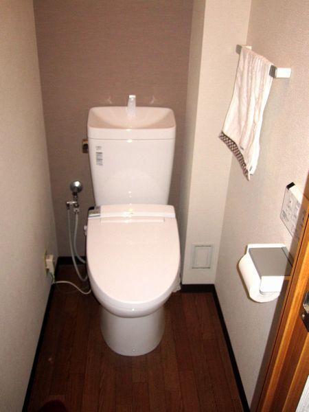 使い勝手のよいトイレに変身♪