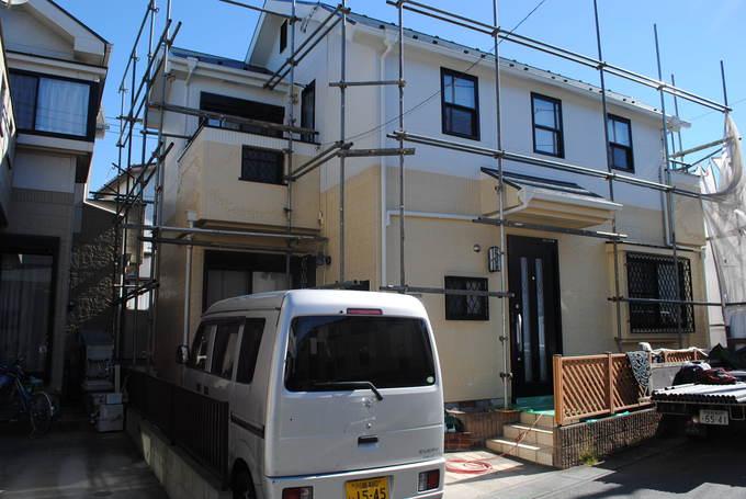 93万円塗装の家(外壁シリコン 屋根フッソ)