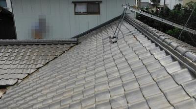屋根の葺き替え工事~ 和瓦を軽量な瓦へ