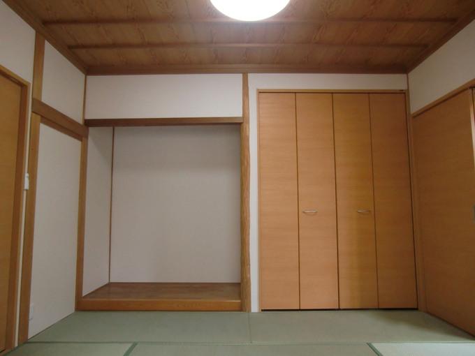 現代風の和室