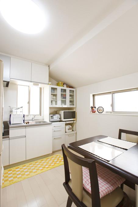 二世帯用に2階にミニキッチンを増設