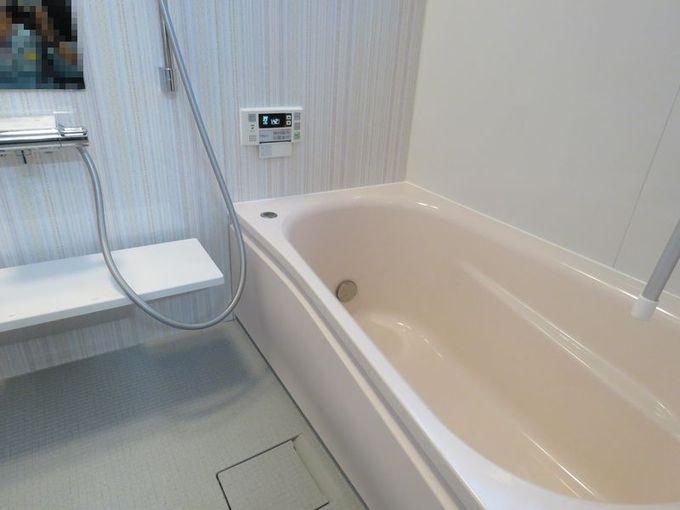 タイル張りの浴室をユニットバスに交換