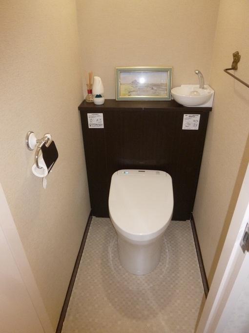 清潔で素敵なトイレに変身!