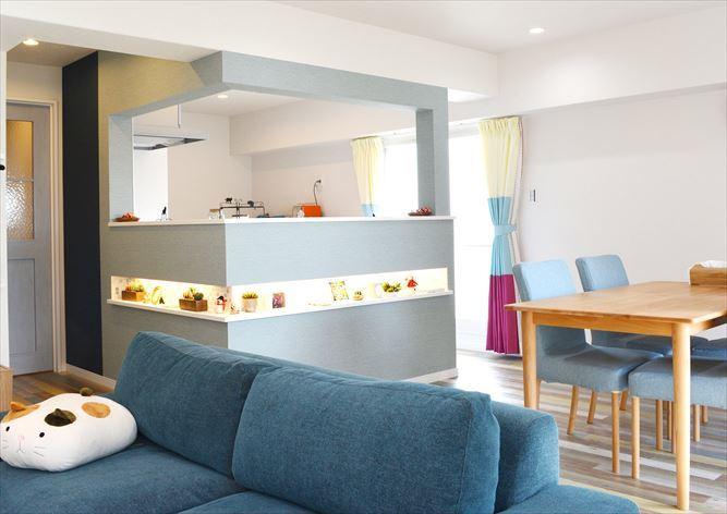 お気に入りのカフェスタイルと、バリアフリー設計を両立