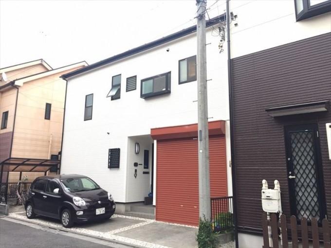 新築当時のイメージ一新!外壁・屋根・シャッター塗装
