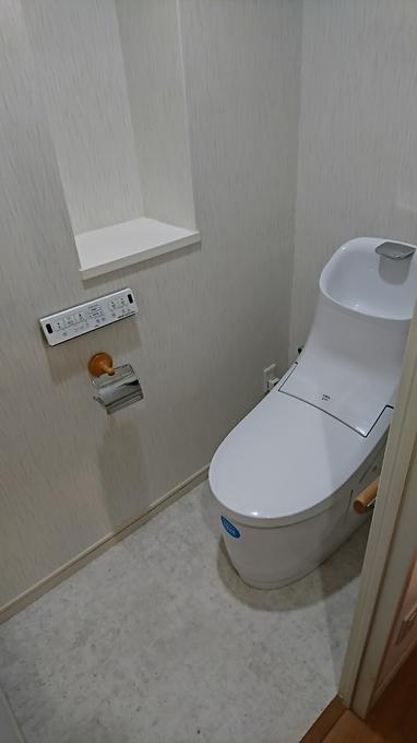 最新のスマートトイレでゆとりあるトイレ空間へリフォーム!