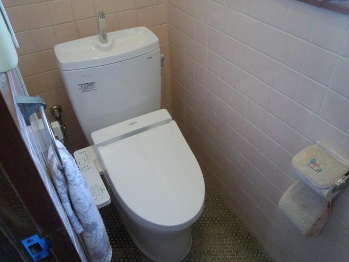 費用を抑えてトイレをキレイに。