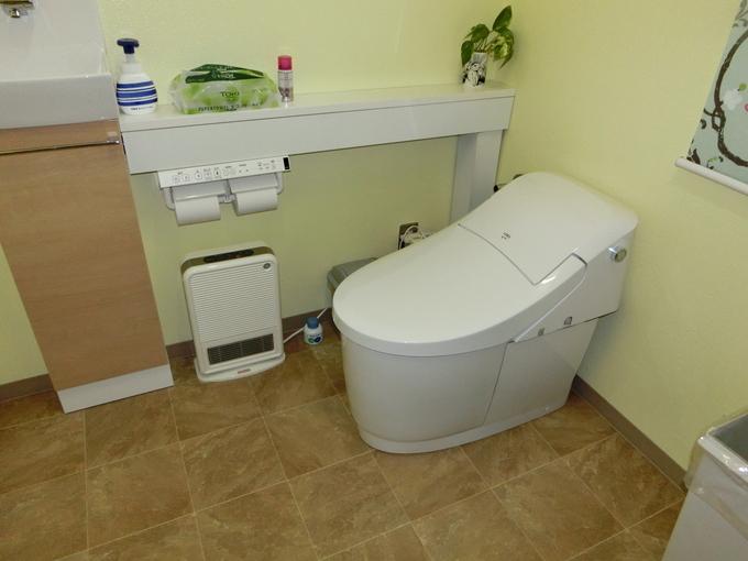トイレが素敵な空間に大変身