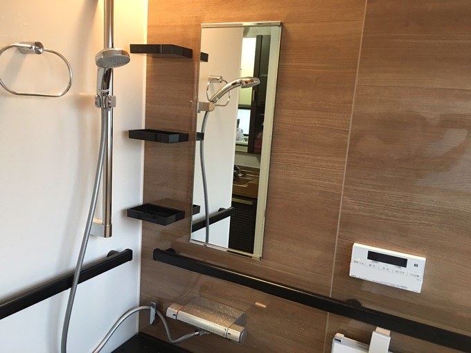 西区 浴室改修工事