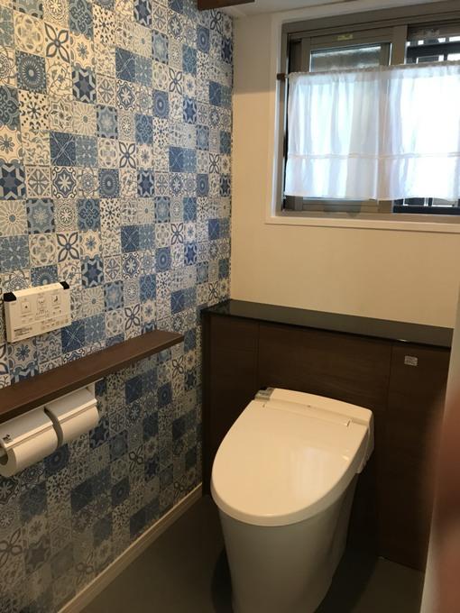 インテリアを楽しむトイレ
