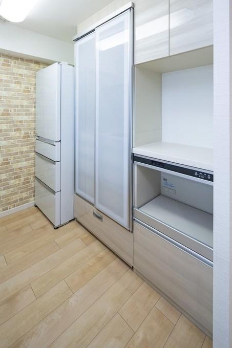 広くて使いやすいキッチンになりました