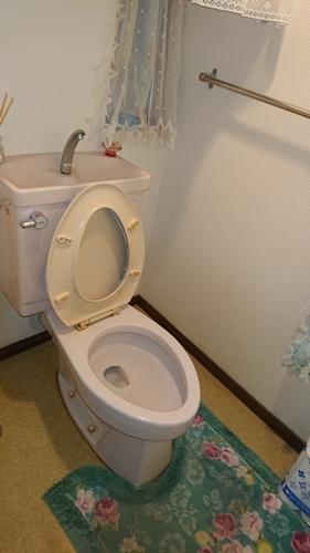 シックでスタイリッシュなトイレ