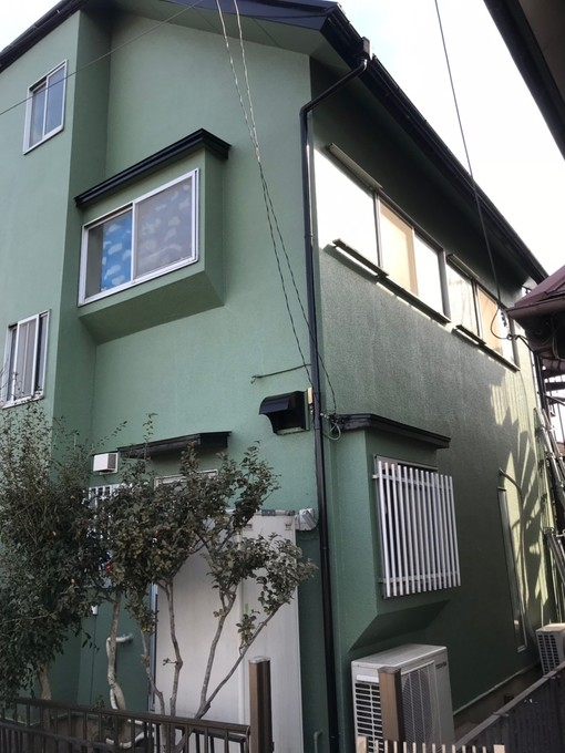 戸建て住宅三階建 外壁塗装、屋根塗装
