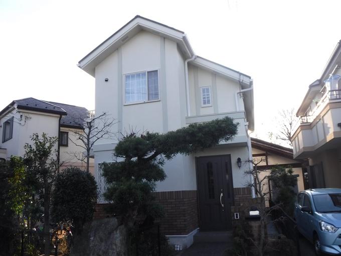 稲城市I様邸【外壁・屋根塗装】