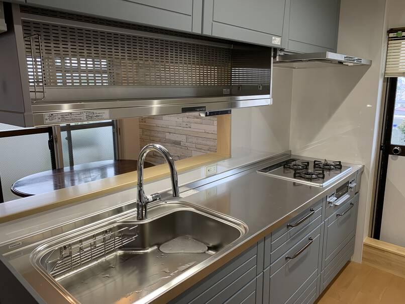 対面式キッチン設置・間取り変更
