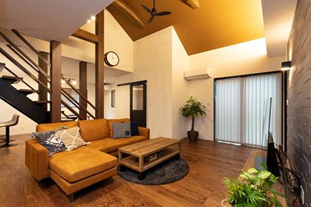 伝統工法の住宅のリノベーション