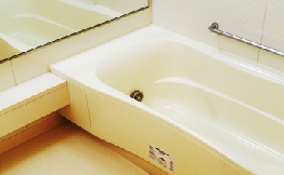 ユニットバスの浴室
