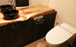 掃除しやすいトイレの床材