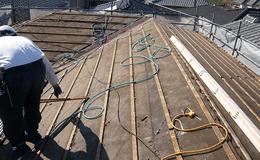 ふき替え屋根