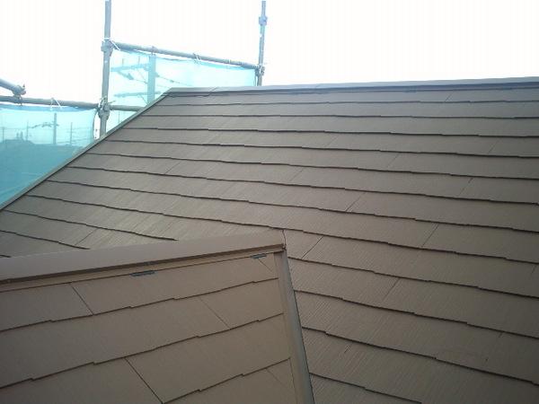 遮熱対策バッチリの屋根塗装