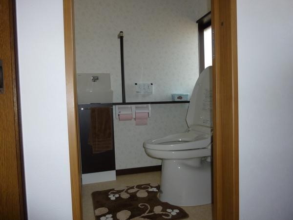 バリアフリー仕様の使いやすいトイレ
