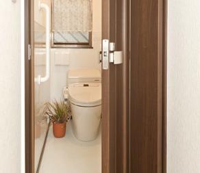 折戸式のトイレ