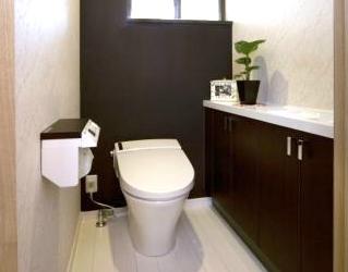 のんびり入れるトイレ